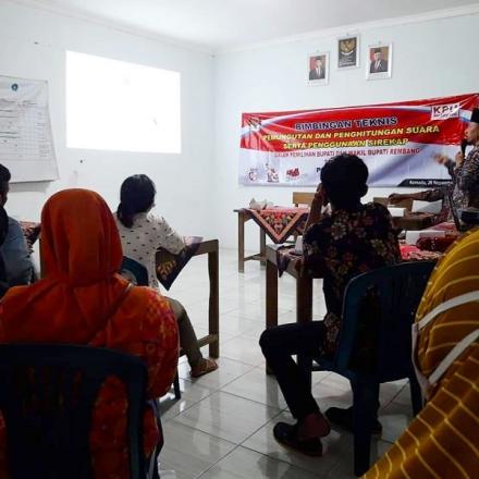 Album : Bimbingan teknis KPPS Desa Kemadu