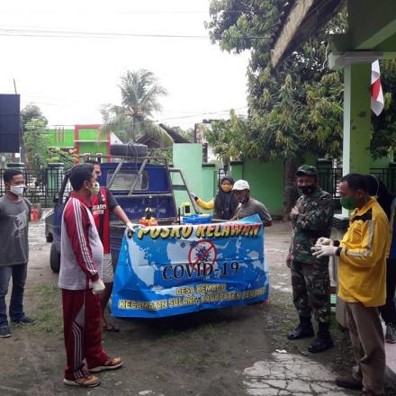 Album : Kegiatan Tim Relawan COVID 19 Desa Kemadu
